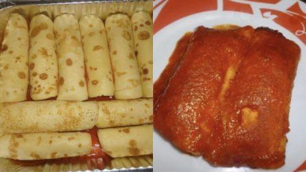 Cannelloni al sugo fatti in casa: un ripieno davvero gustoso