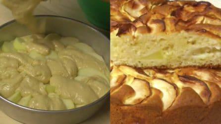 Yogurt, mele e nocciole: una combinazione perfetta per una torta golosa