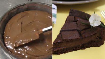 Crostata al cacao con crema al cioccolato: fragrante e golosa