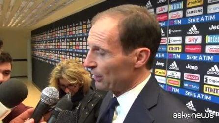 """Juventus, Allegri: """"Dybala? Ha fatto una delle sue migliori partite"""""""