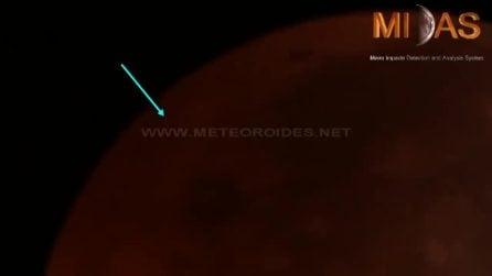 Un meteoroide ha colpito la Superluna del Lupo in 'diretta': prima volta durante un'eclissi