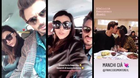 """Il messaggio di Giulia Salemi su Instagram: """"Io e Francesco ci separiamo, solo per un paio di giorni"""""""