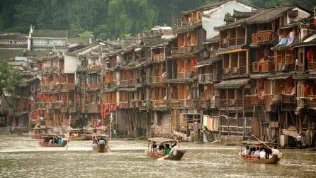 Case di legno e palafitte: la Venezia cinese sembra un luogo fuori dal mondo