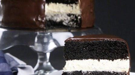 Torta al doppio cioccolato: una dolce più goloso non esiste!
