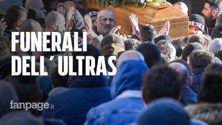 """Funerali di Daniele Belardinelli, l'ultras morto negli scontri: """"Grazie per i tuoi insegnamenti"""""""
