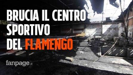 Tragedia in Brasile: brucia il centro sportivo del Flamengo, almeno 10 le vittime