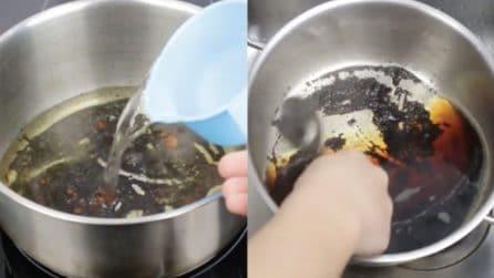 Come pulire il fondo della padella bruciato: due metodi infallibili