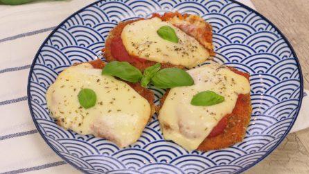 Cotolette filanti al forno con pomodoro e provola: la ricetta facile e gustosa!