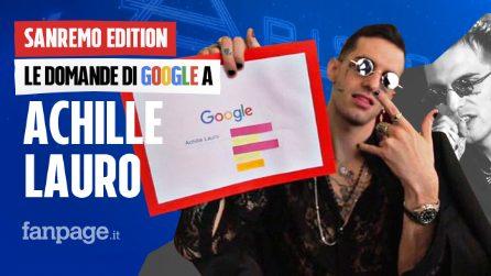 Achille Lauro, Rolls Royce, Anna Tatangelo, Sanremo: il cantante risponde alle domande di Google