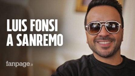 """Luis Fonsi, la star di Despacito a Sanremo: """"Eros Ramazzotti ha ispirato artisti in tutto il mondo"""""""