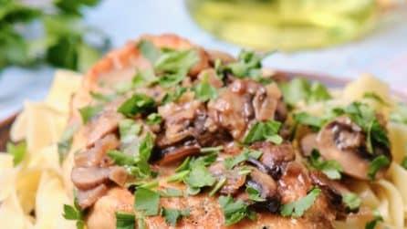 Pollo al marsala: la ricetta per cucinare un pollo tenero e succulento!