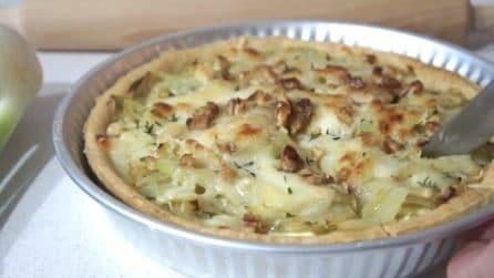 Torta salata con finocchi: la ricetta rustica da provare