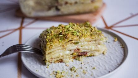 Pistachio lasagna: you need to get your hands on this italian dish!