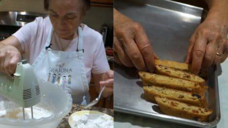 I cantucci di nonna Gina: la ricetta dei biscotti golosi e fragranti