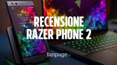 Recensione Razer Phone 2: grandi prestazioni, ma anche peso e dimensioni