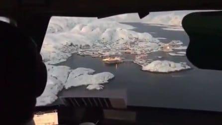 Le immagini mozzafiato all'alba in Groenlandia: che spettacolo