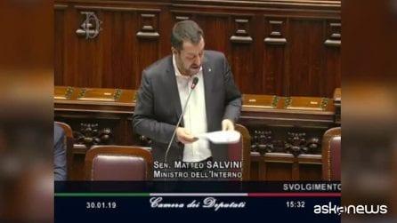 """Castelnuovo, Salvini: """"Nessuno lasciato per strada con lo sgombero"""""""