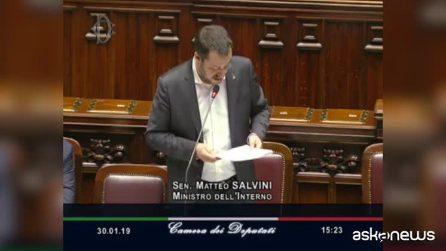 """Migranti, Salvini: """"Unico interesse è la sicurezza, rifarei tutto"""""""