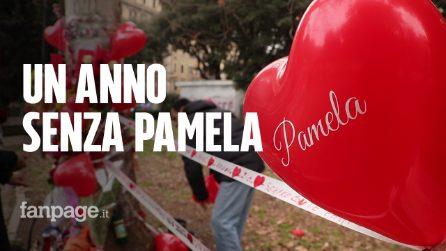 Pamela Mastropietro, ad un anno dalla sua morte amici e parenti la ricordano a Roma