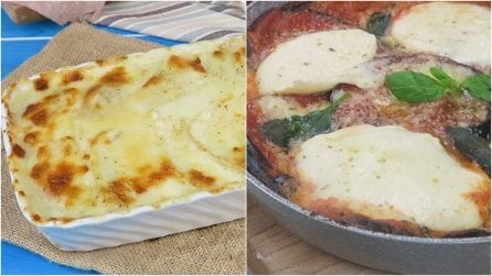 Ecco 3 versioni originali rispetto alla solita parmigiana!