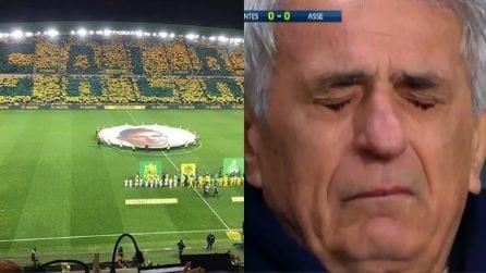 Emiliano Sala, quanto accade al minuto 9 a Nantes è da brividi