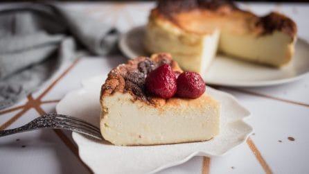 San Sebastian cheesecake: la ricetta spagnola che vi farà impazzire!