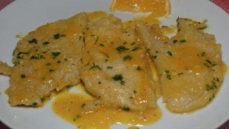 Scaloppine in crema di arancia: il secondo piatto da leccarsi i baffi