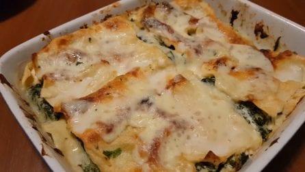 Lasagne ricotta e spinaci: la versione bianca del piatto classico