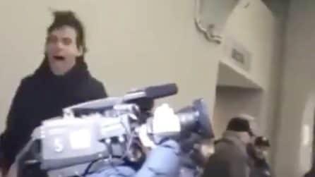 Incontenibile esultanza per Inzaghi a San Siro dopo il rigore decisivo