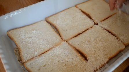 Torta di pancarrè al forno: una ricetta originale salva cena