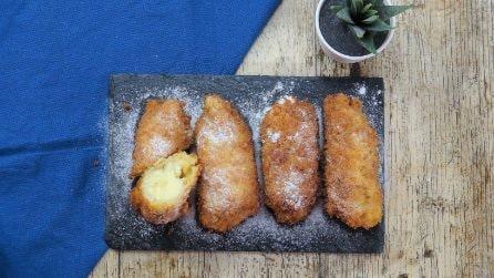 Mini rolls di banana: il dessert ideale per chi ha poco tempo e desidera qualcosa di buono