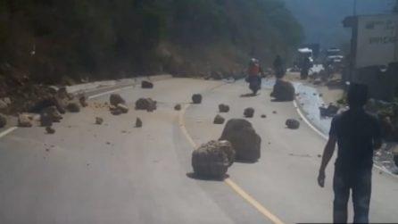 Messico, fortissima scossa di terremoto: le prime immagini