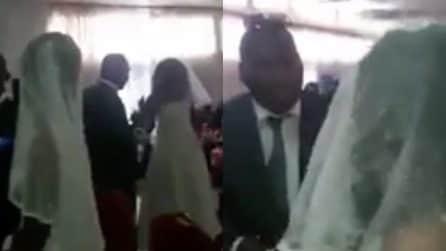 L'amante si presenta alle nozze vestita da sposa: scoppia la lite