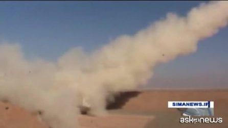 Iran, testato con successo missile balistico a lungo raggio