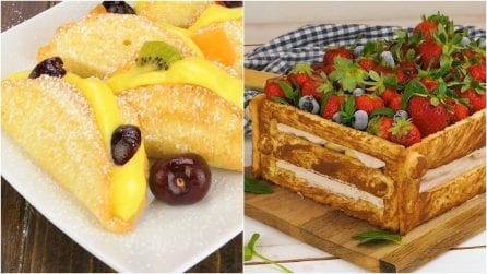 I dolci con la frutta sono sempre i più deliziosi: ecco tre idee da replicare