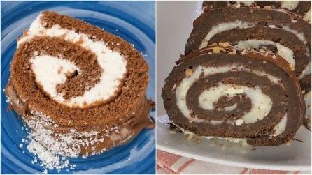 Come preparare i rotoli al cioccolato più golosi che esistano