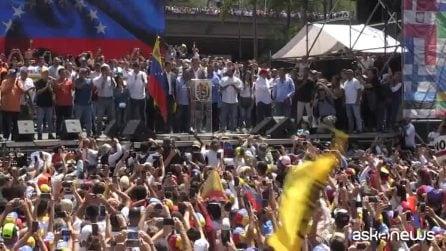 """Venezuela, Guaidò all'Italia: """"Unitevi all'Europa e sostenetemi"""""""