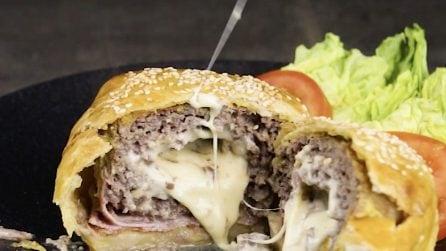 Burger in crosta: la ricetta deliziosa da provare subito!