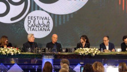 """Sanremo, Virginia Raffaele: """"Obbligata a farlo, mia mamma è fan di Baglioni"""""""