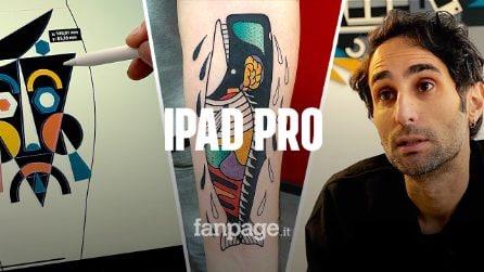 """Luca Font, dai graffiti all'iPad Pro: """"Così trasformo un'idea in un tatuaggio"""""""