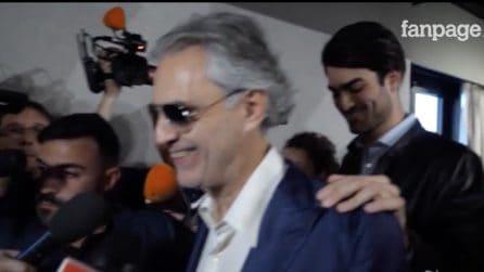 """Sanremo, Andrea Bocelli: """"La Lega usa le mie canzoni? Mi fa piacere"""""""