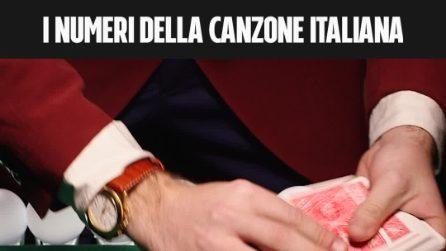I numeri della Canzone Italiana.