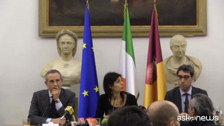 Roma, Raggi: lo stadio si fa, cantieri possono aprire entro anno