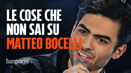 Matteo Bocelli incanta Sanremo 2019: le cose che non sai sul figlio prodigio del tenore Andrea