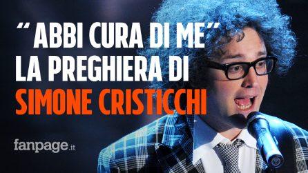 """Simone Cristicchi: il significato di """"Abbi cura di me"""", la sua preghiera d'amore a Sanremo 2019"""