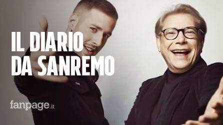 Nino D'Angelo e Livio Cori, il diario dal Festival di Sanremo