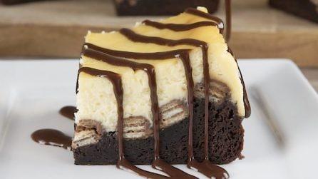 Brownie al wafer: una ricetta più golosa non esiste!