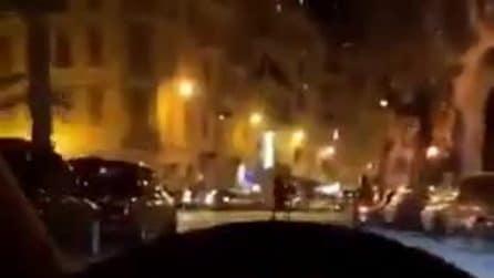 Alex Belli a 111km/h per le strade di Sanremo