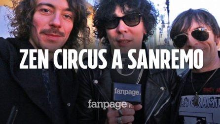 """Zen Circus, a Sanremo con 'L'amore è una dittatura': """"Che bello sentirsi esordienti!"""""""