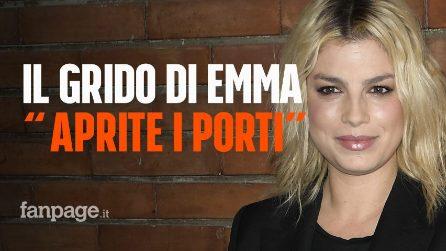 """""""Aprite i porti!"""", il messaggio di Emma dal concerto del PalaSele di Eboli scatena le polemiche"""